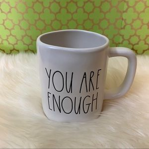 Rae Dunn YOU ARE ENOUGH Mug NWT